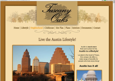 Tuscany Oaks Austin Real Estate