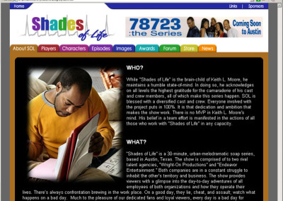 Shades of Life Website