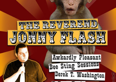 Reverend Jonny Flash Band Event Poster