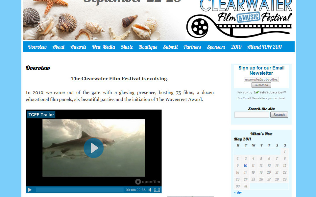 The 2011 Clearwater Film & Music Festival