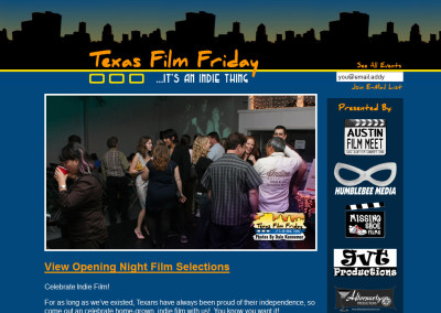 Texas Film Friday New Media & Film Festival